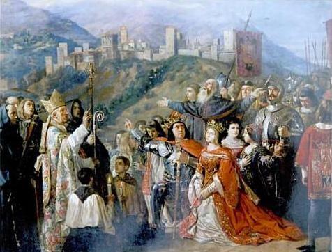 14-los-reyes-catolicos-rezando-con-su-corte-tras-la-toma-de-granada