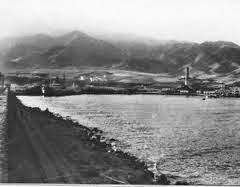 Figura 6. El puerto de Adra en 1911. (http://ireneu.blogspot.com.es/2014/04/que-fue-de-boabdil-despues-de-rendir.html)