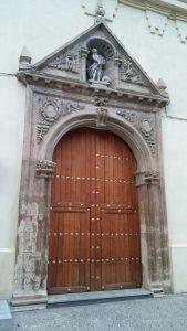 Figura 1. Portada de la Iglesia del Convento de Agustinos Recoletos de Santa Fe
