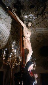 Imagen del Cristo de la Salud.