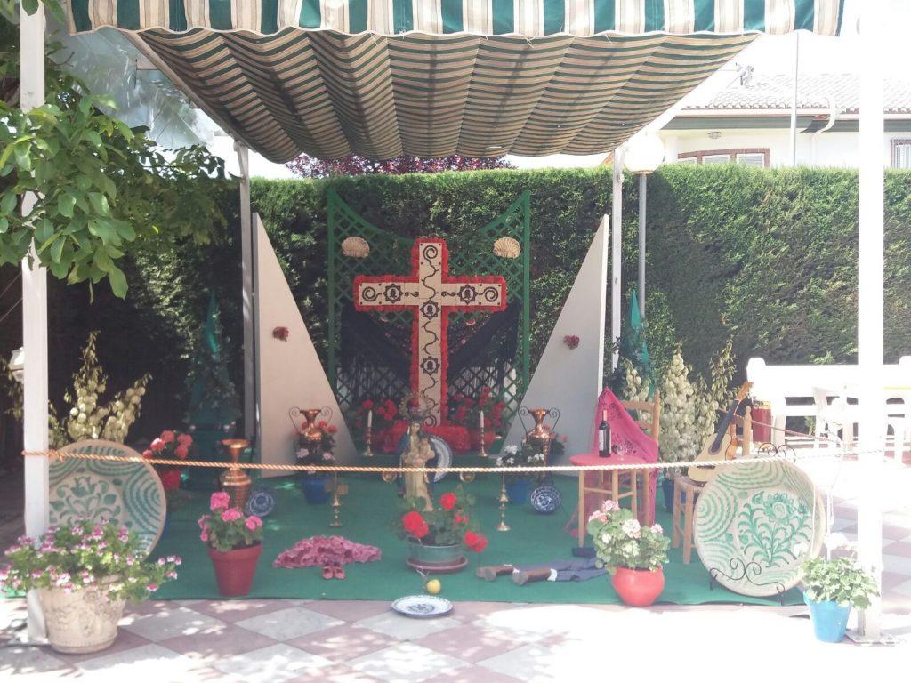 Cruz de la Residencia Virgen de la Paz.