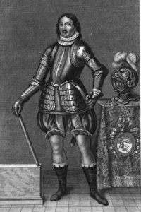 Figura 5. Cuadro de Hernán Pérez del Pulgar en la Casa del Marqués del Salar. (https://hidalgosenlahistoria.blogspot.com.es/2016/02/hernan-perez-del-pulgar-llamado-el-de.html)