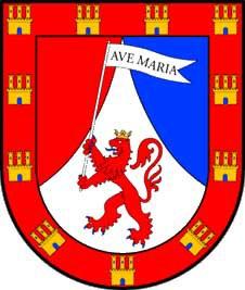 Figura 2. Escudo de Armas de Hernán Pérez del Pulgar. (https://ciudadreal.wordpress.com/el-palacio-de-hernan-perez-del-pulgar/)