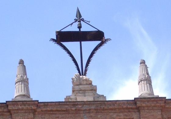 Cabeza del moro Tarfe en la Parroquía de la Encarnación. (http://leondejudamins.blogspot.com.es/2011/10/)