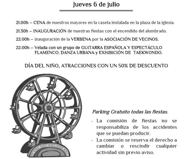 Fiestas de Pedro Ruiz I