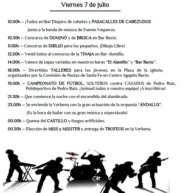 Fiestas de Pedro Ruiz II