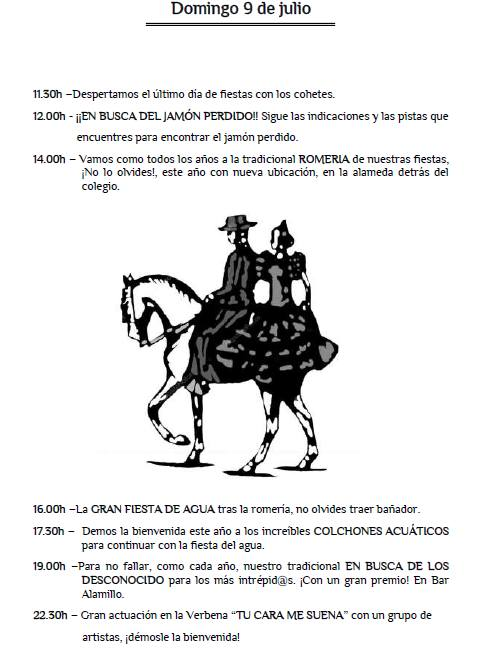 Fiestas de Pedro Ruiz IV