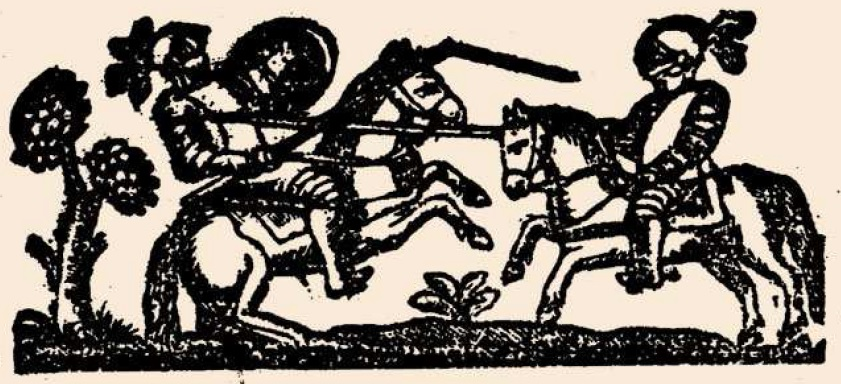 Figura 3. Viñeta del lance entre el Moro Tarfe y Garcilaso de la Vega.